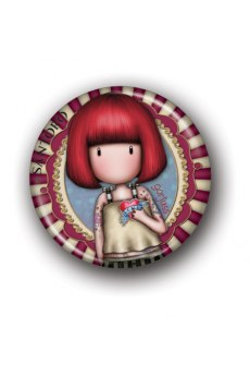 Santoro Συλλεκτικό Μαγνητάκι 28 - Illustrated Girl