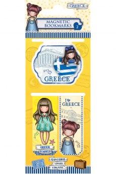 Μαγνητικοί Σελιδοδείκτες - Santoro Greece 2