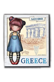 Μαγνητάκι 3D-Santoro-Greece 2