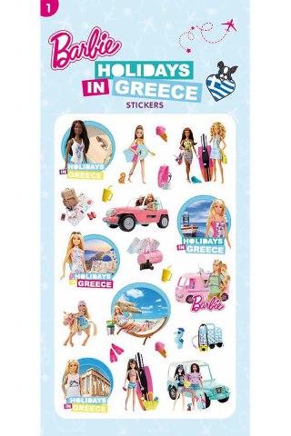 Barbie Αυτοκόλλητα-Διακοπές στην Ελλάδα 1