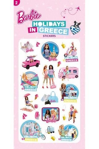 Barbie Αυτοκόλλητα-Διακοπές στην Ελλάδα 2