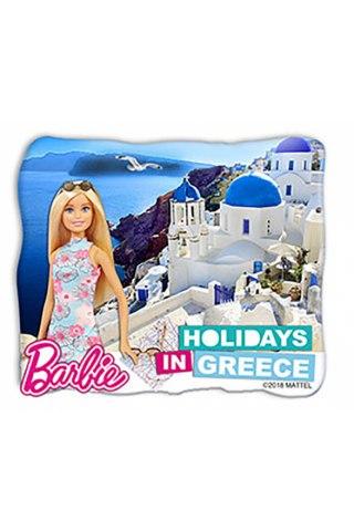 Barbie Μαγνητάκι-Σαντορίνη