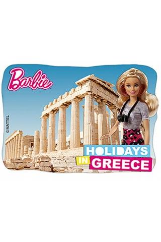 Barbie Μαγνητάκι-Παρθενώνας