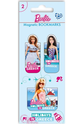Barbie Μαγνητικοί  Σελιδοδείκτες-Διακοπές στην Ελλάδα 2