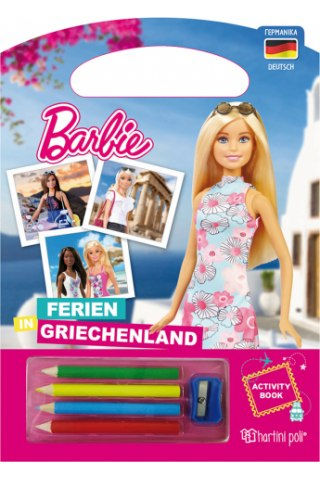 Barbie - Διακοπές στην Ελλάδα - Βιβλίο Δραστηριοτήτων [Γερμανικά]